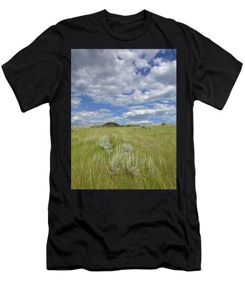 Summertime On The Prairie Men's T-Shirt (Athletic Fit)
