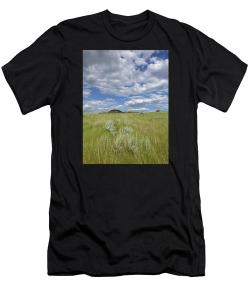 Summertime On The Prairie Men's T-Shirt (Athletic Fit)