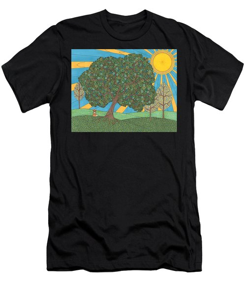 Summertime Men's T-Shirt (Athletic Fit)