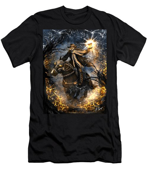 Summoned Skull Fantasy Art Men's T-Shirt (Athletic Fit)