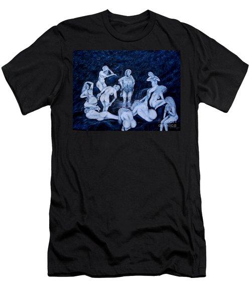 Sun Bath Men's T-Shirt (Athletic Fit)