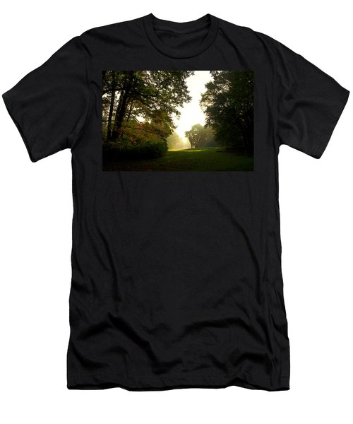 Sun Beams In The Distance Men's T-Shirt (Athletic Fit)