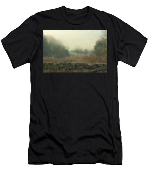 Sun Breaking Through Men's T-Shirt (Athletic Fit)