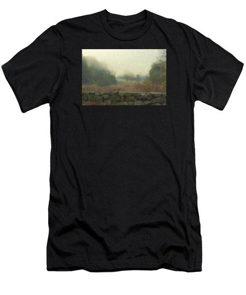 Sun Breaking Through Men's T-Shirt (Athletic Fit)
