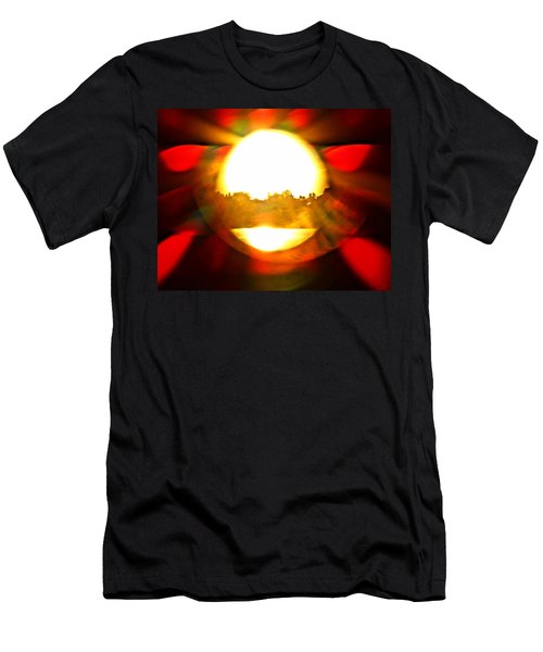 Men's T-Shirt (Slim Fit) featuring the photograph Sun Burst by Eric Dee