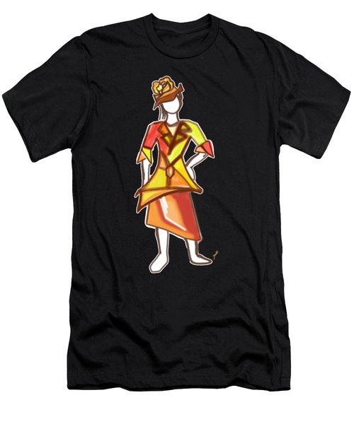 Sun Color Dress Men's T-Shirt (Athletic Fit)