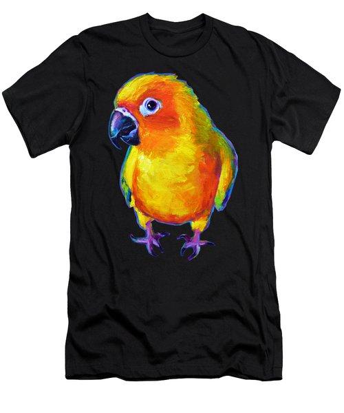 Sun Conure Parrot Men's T-Shirt (Athletic Fit)