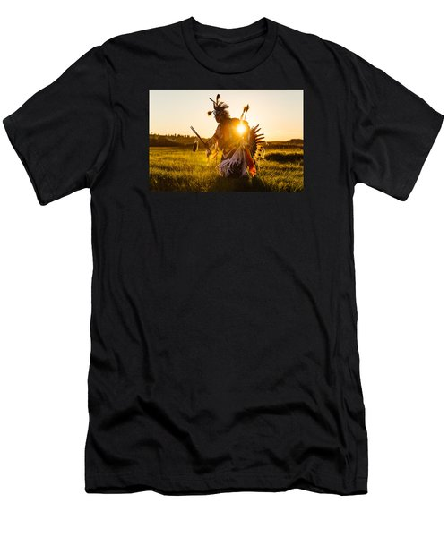 Men's T-Shirt (Athletic Fit) featuring the photograph Sun Dance by Todd Klassy