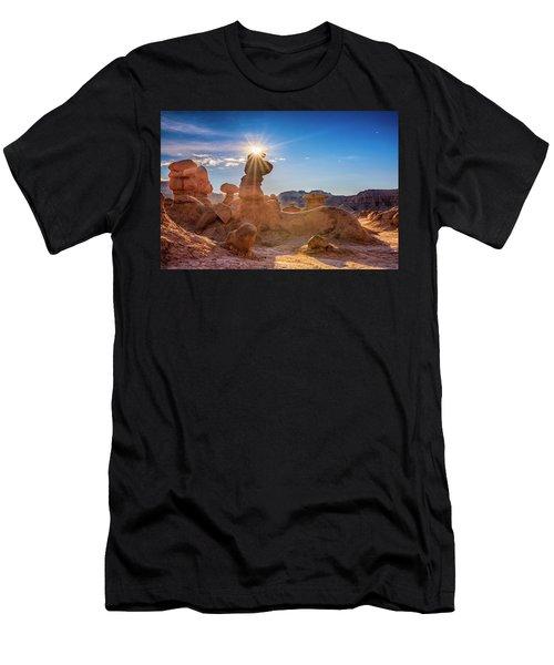 Sun Dog Men's T-Shirt (Athletic Fit)