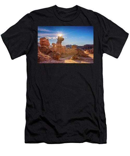 Sun Dog Men's T-Shirt (Athletic Fit)