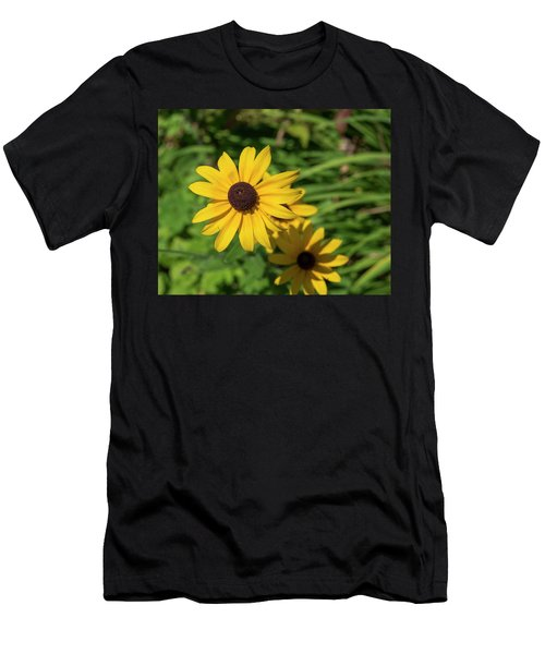 Sun Drenched Daisy Men's T-Shirt (Athletic Fit)
