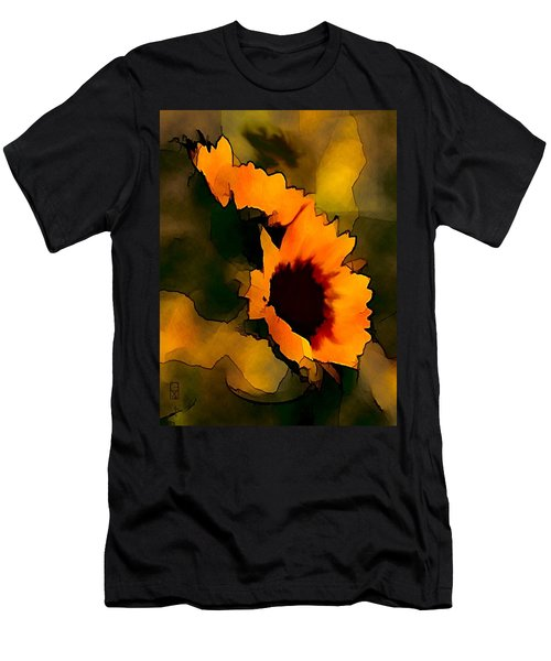 Sun Flower Men's T-Shirt (Athletic Fit)