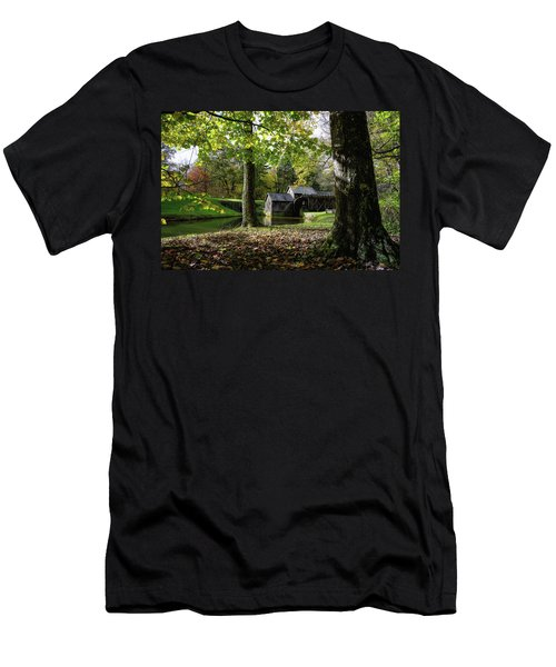 Sun Going Down At The Mill Men's T-Shirt (Athletic Fit)