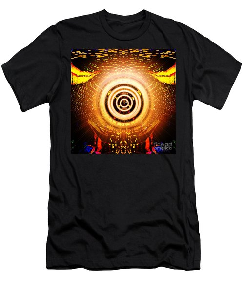 Sun In Your Hands Men's T-Shirt (Athletic Fit)