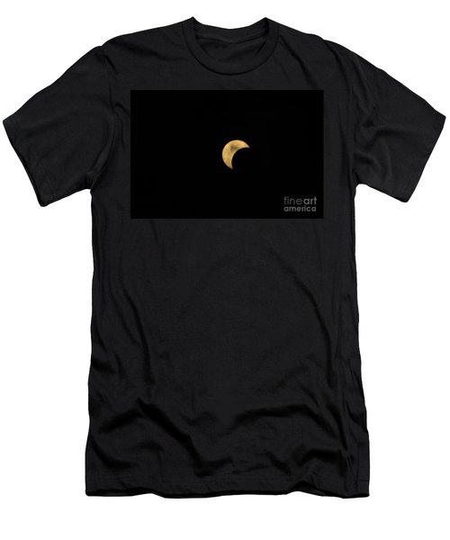 Sun Moon Clouds Men's T-Shirt (Athletic Fit)