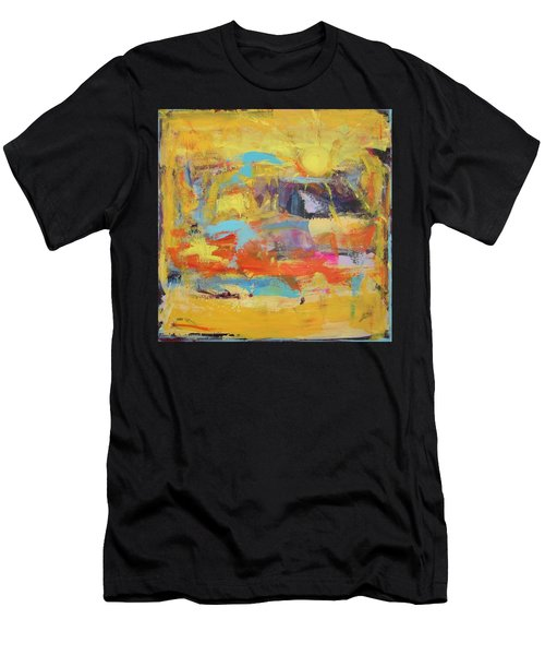 Sun Overlapping Men's T-Shirt (Athletic Fit)