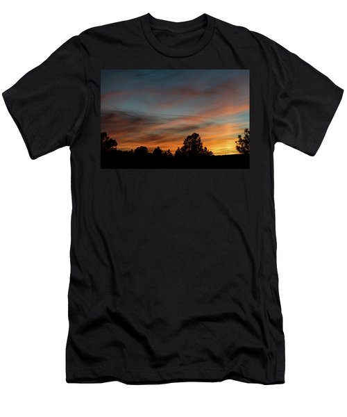 Sun Pillar Sunset Men's T-Shirt (Athletic Fit)