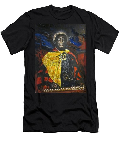 Blaa Kattproduksjoner           Sun-ra - Jazz Artist Men's T-Shirt (Athletic Fit)
