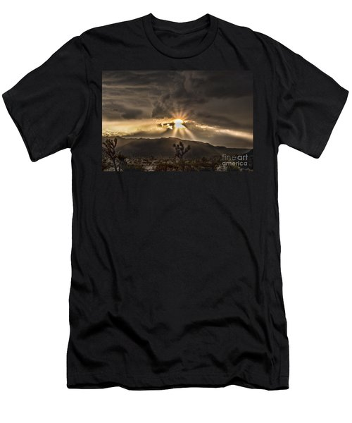 Sun Rays Men's T-Shirt (Athletic Fit)