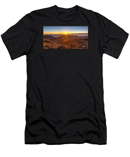 Sun Rising Mount Haleakala Men's T-Shirt (Athletic Fit)