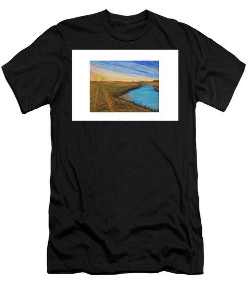 Sun Up Men's T-Shirt (Athletic Fit)