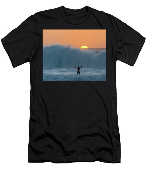 Sun Worship Men's T-Shirt (Athletic Fit)