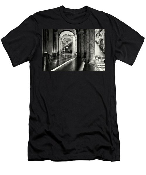 Sunbeam Inside The Church Men's T-Shirt (Athletic Fit)