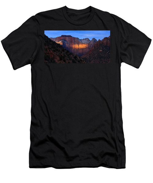 Sunbeam, Towers Of The Virgin, Zion Men's T-Shirt (Athletic Fit)