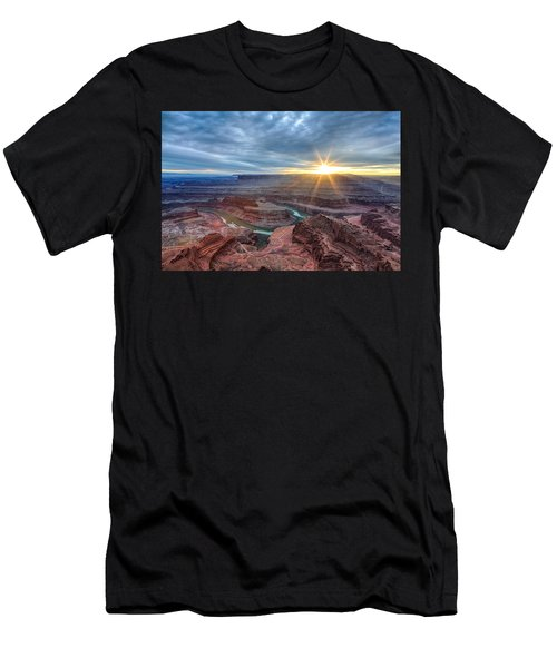Sunburst At Dead Horse Point Men's T-Shirt (Athletic Fit)