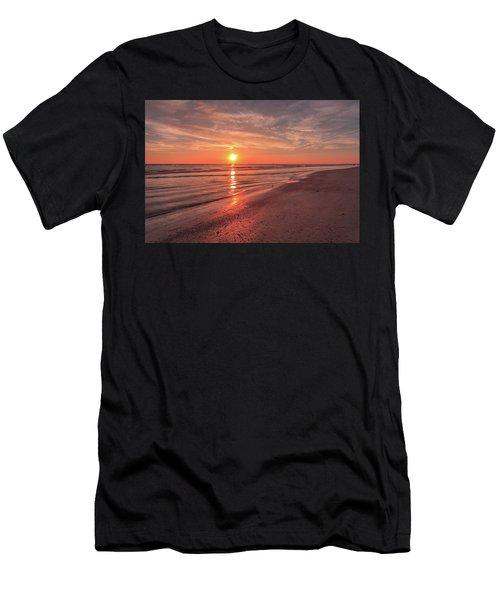 Sunburst At Sunset Men's T-Shirt (Athletic Fit)
