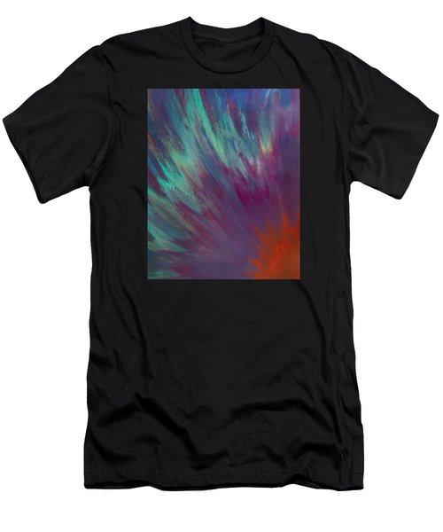 Sunburst Aura Men's T-Shirt (Athletic Fit)
