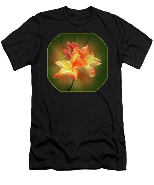 Sunburst Orange Azalea Men's T-Shirt (Athletic Fit)