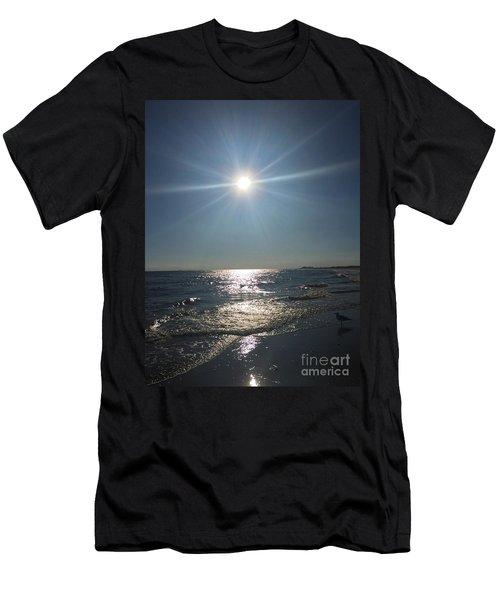 Sunburst Reflection Men's T-Shirt (Athletic Fit)