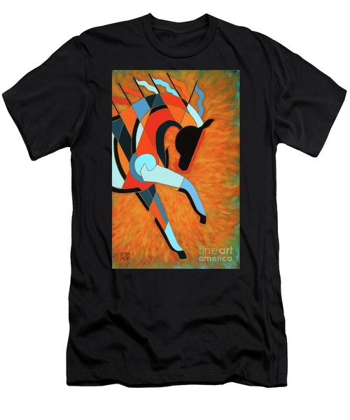 Sundancer Of The Fire I Men's T-Shirt (Athletic Fit)