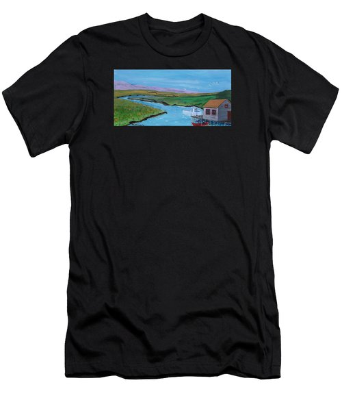 Sunday Afternoon On The California Delta Men's T-Shirt (Athletic Fit)