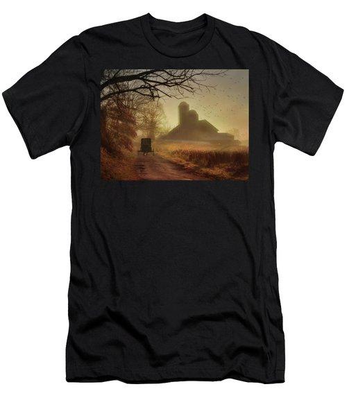 Sunday Morning Men's T-Shirt (Slim Fit) by Lori Deiter