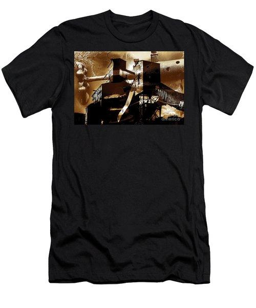 Appalachian Sundown  Men's T-Shirt (Athletic Fit)