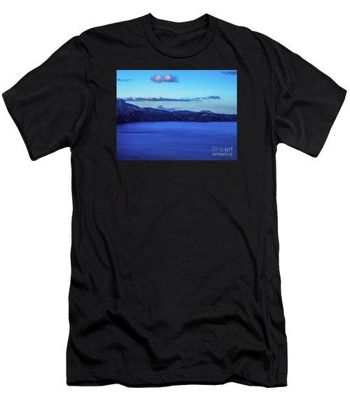 Sundown At Crater Lake Men's T-Shirt (Athletic Fit)