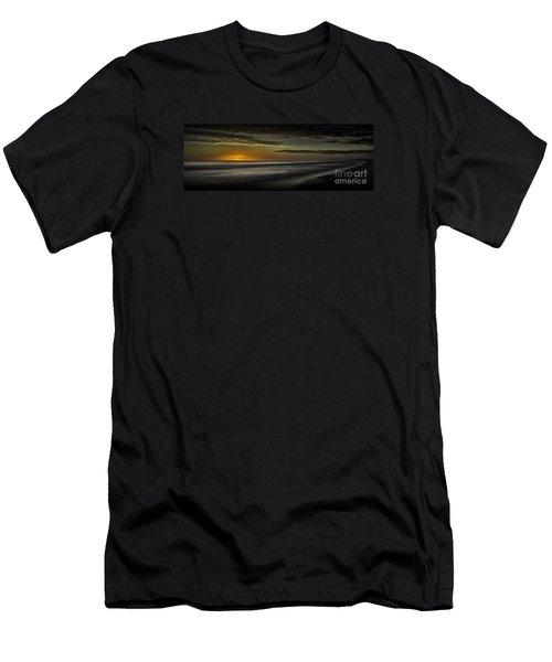 Sundown At Santa Rosa Beach Men's T-Shirt (Athletic Fit)