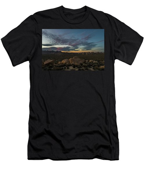 Sundown From Hilltop View Men's T-Shirt (Athletic Fit)