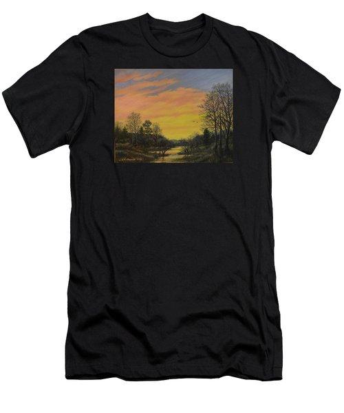 Sundown Glow Men's T-Shirt (Athletic Fit)