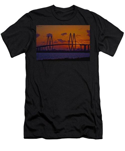 Sundown In Baytown Men's T-Shirt (Athletic Fit)
