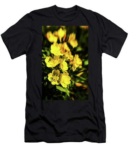 Men's T-Shirt (Athletic Fit) featuring the photograph Sundrops by Onyonet  Photo Studios
