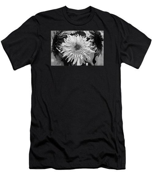 Sunflower 1 Men's T-Shirt (Slim Fit) by Simone Ochrym
