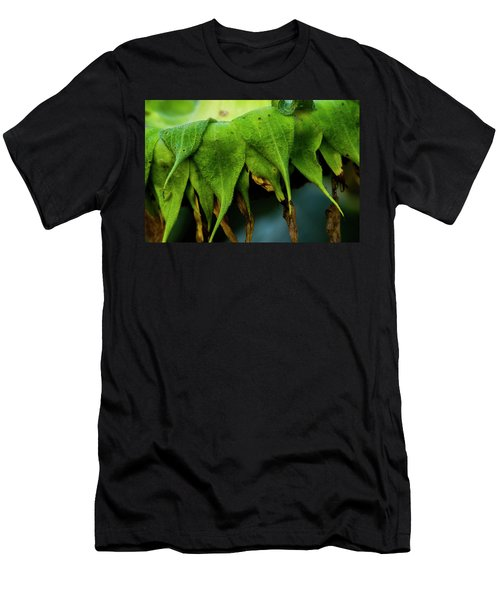 Men's T-Shirt (Athletic Fit) featuring the photograph Sunflower 2017 4 by Buddy Scott