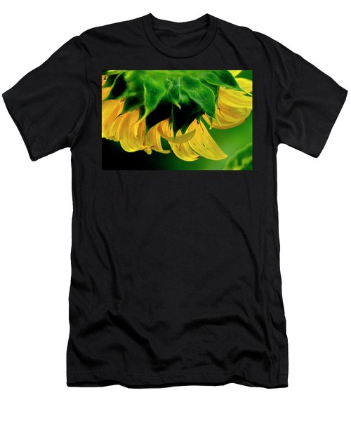 Men's T-Shirt (Athletic Fit) featuring the photograph Sunflower 2017 6 by Buddy Scott