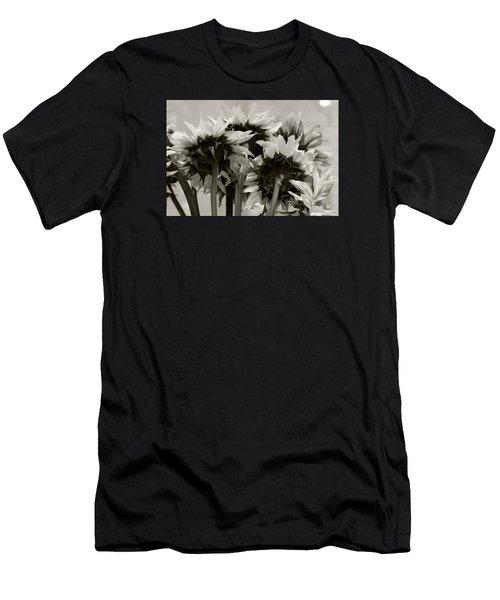 Sunflower 3 Men's T-Shirt (Slim Fit) by Simone Ochrym