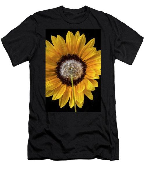 Sunflower And Dandelion Men's T-Shirt (Athletic Fit)
