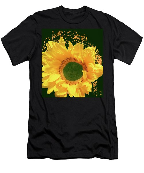 Sunflower Art Men's T-Shirt (Athletic Fit)