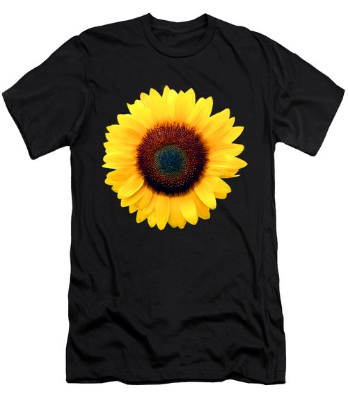 Sunflower Men's T-Shirt (Slim Fit) by Bob Slitzan